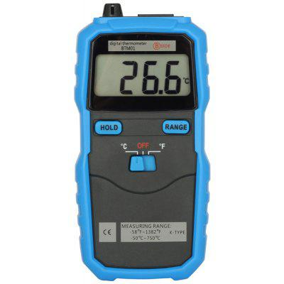 Bside BTM01 Portable Digital Thermometer with Room Sensor / Thermocouple Jack