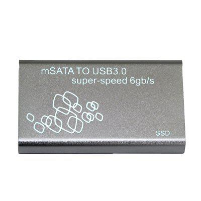 1.8 inch mSATA to USB 3.0 Hard Disk Box