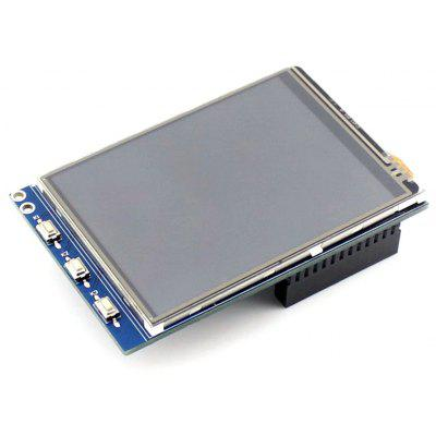 Waveshare 3.2 Zoll Resistive LCD Touchscreen Modul für Himbeer Pi 2 B / B +