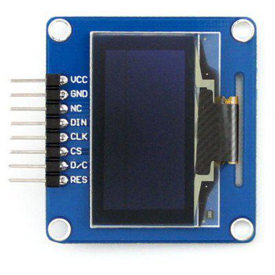 Waveshare 1.3 pouces OLED Display Module Curved Pinheader