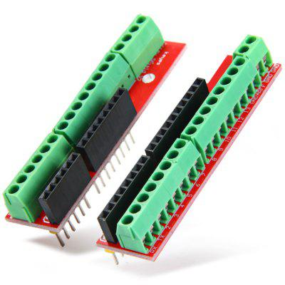 2PCS Screw Shields V2 Terminal Expansion Board DIY Solderless for Arduino