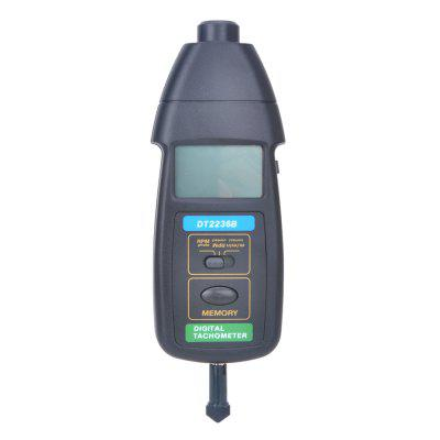 DT2236B 2 in 1 Contact / Non-contact Tachometer