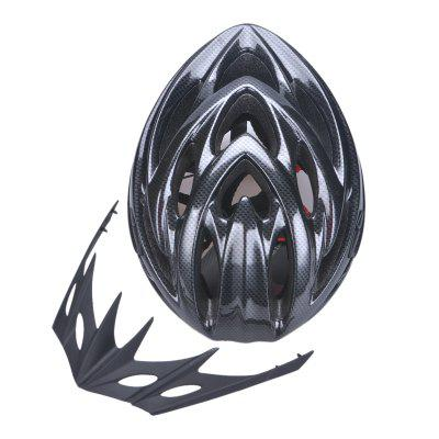 22 Vents High Breathability Bicycle Helmet with Detachable Sun Visor