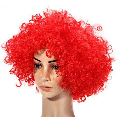 Funny Clown Curly Wigs