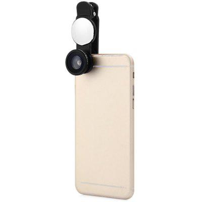 3-in-1 Mobile Phone Clip Lens