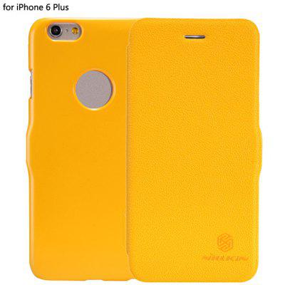Nillkin Card Holder Design Phone Protective Cover Case with PU and Plastic Material for iPhone 6 Plus - 5.5 inch