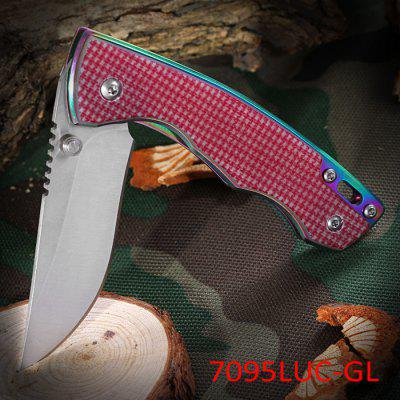 Sanrenmu 7095 LUC - GL Folding Knife for Climbing