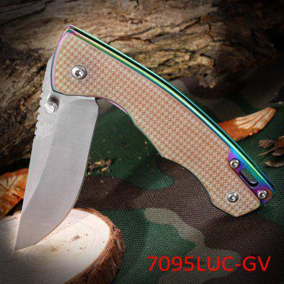 Sanrenmu 7095 LUC - GV Folding Knife for Climbing