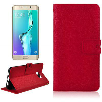 Angibabe PU Leather Folio Protective Case with Card Solt for Samsung Galaxy S6 Edge Plus
