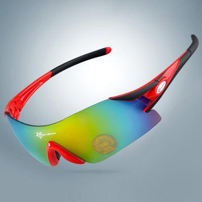 ROCKBROS Unisex Anti-UV Cycling Sunglasses + 3pcs Lens