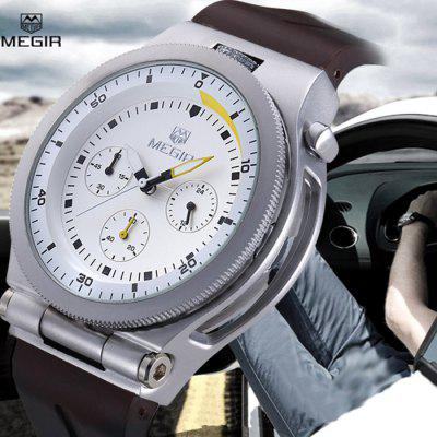 MEGIR 2512 Male Japan Quartz Watch