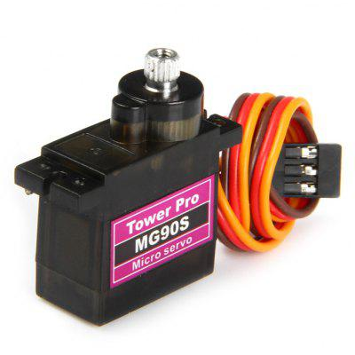 Towerpro MG90S Micro Analog Servo Gear 14g with Cross Arm for RC Models Biped Robotics