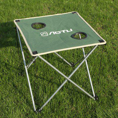 AOTU Thickened Folding Desk for Outdoor Barbecue and Camping