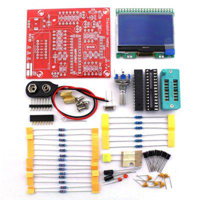 Buy M12864 DIY Transistor Tester Kit RED AND GREEN for $20.41 in GearBest store