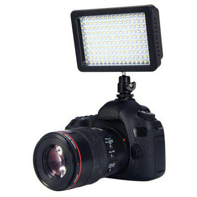 W160 LED 10.5W Dimmable Video Light Lamp 1150LM 5600K / 3200K