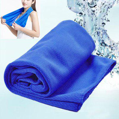 Magic Summer Ice Cold TowelFeatured Sports Products<br>Magic Summer Ice Cold Towel<br><br>Functions: Decoration, High quality, Soft-touch, Sun Block, Sun protection<br>Package Contents: 1 x Summer Ice Cold Towel<br>Package size (L x W x H): 15.00 x 10.00 x 2.00 cm / 5.91 x 3.94 x 0.79 inches<br>Package weight: 0.0700 kg<br>Product size (L x W x H): 87.00 x 33.00 x 0.20 cm / 34.25 x 12.99 x 0.08 inches<br>Product weight: 0.0470 kg