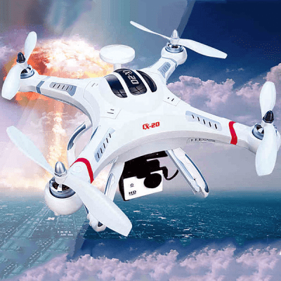 Top Seller Cheerson CX  -  20 GPS Auto Pathfinder Quadcopter with Camera Mounting Base