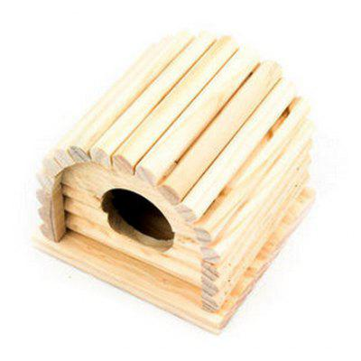 Wooden Detachable Cabin Hide Toys
