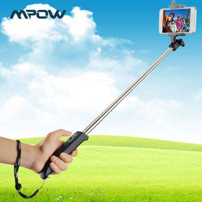MPOW iSnap Y Wireless Bluetooth Remote Shutter Selfie Monopod with Rotatable Phone Holder