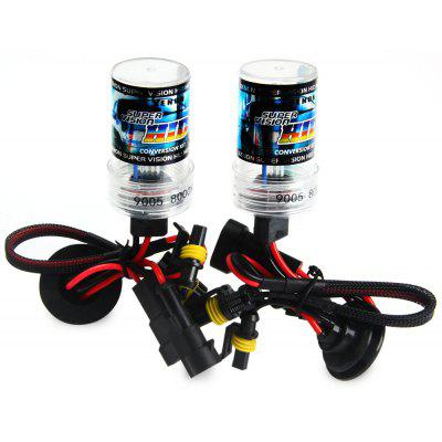 2pcs 9005 12V 3600lm 35W 8000K Car HID Xenon Headlamp with Cool White Light