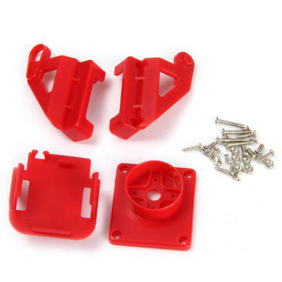 Mini Camera Mount FPV Aerial Photography PTZ for Biaxial Servo Steering Head Airplanes
