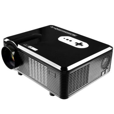 Excelvan CL720D LED Projector with Digital TV Slotprojectors<br>Excelvan CL720D LED Projector with Digital TV Slot<br><br>3D: Yes<br>Aspect Ratio: 16:9 / 4:3<br>Bluetooth: Unsupport<br>Brand: EXCELVAN<br>Brightness: 3000 Lumens<br>Built-in Speaker: Yes<br>Color: Black,White<br>Compatible with: TV<br>Contrast Ratio: 2000:1<br>Display type: LCD<br>DVB-T Supported: Yes<br>External Subtitle Supported: No<br>Function: Speaker, DVB-T, 3D<br>Image Scale: 16:9,4:3<br>Image Size: 60 - 100 inch<br>Interface: TV, AV<br>Lamp: LED<br>Lamp Power: 150W<br>Material: Glass, Plastic<br>Model: CL720D<br>Native Resolution: 1280 x 800<br>Other Features: Built-in Speaker (5W x 2)<br>Package Contents: 1 x Projector, 1 x Remote Controller, 1 x Adapter, 1 x AV Cable, 1 x VGA Cable, 1 x Fuse, 1 x Lens Cloth, 1 x English User Manual<br>Package size (L x W x H): 38.50 x 18.20 x 33.80 cm / 15.16 x 7.17 x 13.31 inches<br>Package weight: 3.9150 kg<br>Power Supply: 90-240V/50-60Hz<br>Product size (L x W x H): 32.00 x 25.50 x 11.50 cm / 12.6 x 10.04 x 4.53 inches<br>Product weight: 3.3000 kg<br>Projection Distance: 1.2 - 3.6 m<br>Resolution Support: 1080P<br>Throw Ration: 72inch - 2.08m, 84inch - 2.37m, 100inch - 3m, 120inch - 3.38m