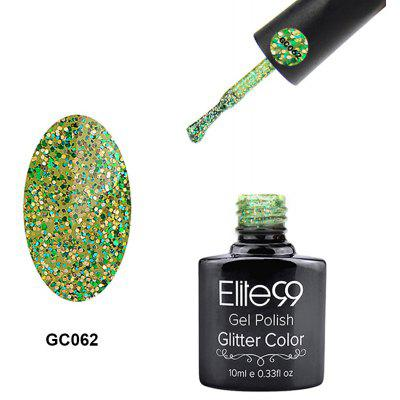 Elite99 Glitter Color Gel Soak Off Nail Polish UV LED Diamond Glitter Shimmer Effect 10ml