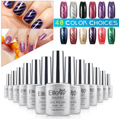 Elite99 Soak Off Cat Eye 3D Nail Tip UV Gel Polish Nail Art Design 12mlNail Gel &amp; Polish<br>Elite99 Soak Off Cat Eye 3D Nail Tip UV Gel Polish Nail Art Design 12ml<br><br>Package Contents: 1 x 12ml Cat Eye Gel Polish<br>Package size (L x W x H): 17.70 x 12.20 x 2.50 cm / 6.97 x 4.8 x 0.98 inches<br>Package weight: 0.080 KG<br>Product weight: 0.050KG