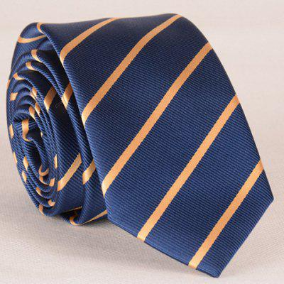 Stylish Yellow Twill Pattern Tie For Men