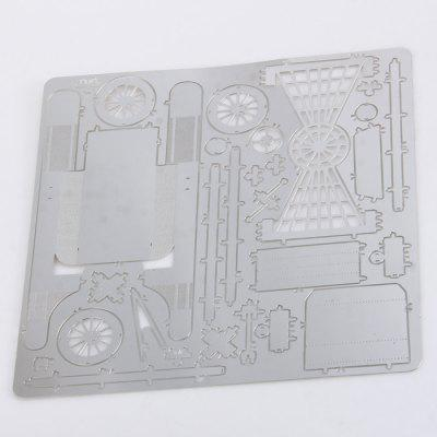 3D Vehicle Jigsaw Laser Cutting Model Puzzle Educational DIY Toy for ChildrenPuzzle &amp; Educational<br>3D Vehicle Jigsaw Laser Cutting Model Puzzle Educational DIY Toy for Children<br><br>Age: 3 Years+<br>Applicable gender: Unisex<br>Design Style: Other<br>Features: DIY<br>Material: Metal<br>Package Contents: 1 x Metal Jigsaw<br>Package size (L x W x H): 18 x 1 x 13 cm / 7.07 x 0.39 x 5.11 inches<br>Package weight: 0.078 kg<br>Product size (L x W x H): 6.8 x 3.8 x 3.8 cm / 2.67 x 1.49 x 1.49 inches<br>Puzzle Style: 3D Puzzle<br>Small Parts: Yes<br>Type: Intelligence toys<br>Washing: Yes