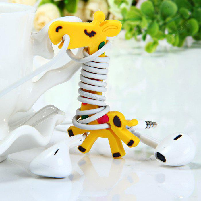 AS THE PICTURE Giraffe Style Earphone Cord Cable