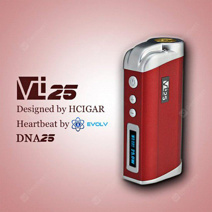 Buy Original Hcigar VT 25 25W TC Mod RED