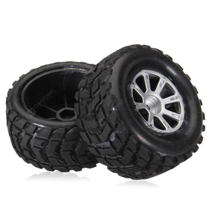 Buy Extra Spare Left Tire Fitting Wltoys A969 Remote Control Car - BLACK