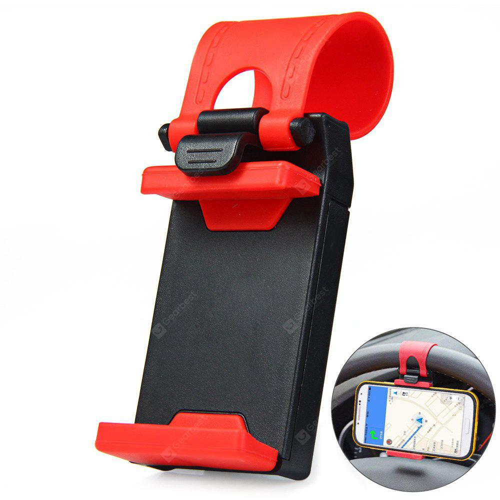 Image result for Car Steering Wheel Phone Mount Holder