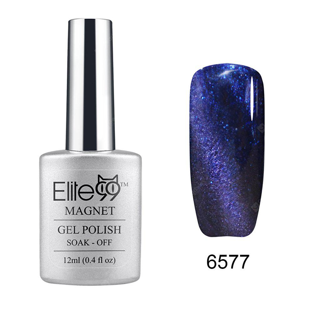 Elite99 Soak Off Cat Eye 3D Nail Tip UV Gel Polish Nail Art Design 12ml