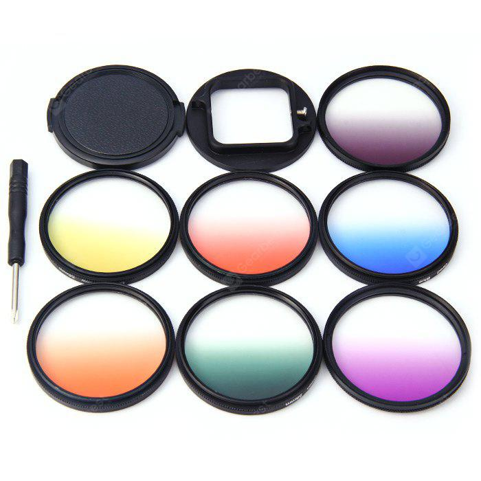AT452 58mm Lens Grad Color Filter Set