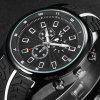 V6 V0281 Male Decorative Sub-dials Quartz Watch with Rubber Band deal