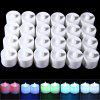 24PCS LED Smokeless Electronic Candle Lamp - WHITE