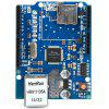 W5100 Ethernet Shield for Arduino - BLUE
