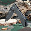 Sanrenmu 7089 LUY - SDW1 Foldable Knife with Liner Lock - BLACK