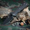 Sanrenmu 7045 LUI - PH - T4 Liner Lock Folding Knife - BLACK