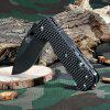 Sanrenmu 7045 LUI - PH - T4 Liner Lock Folding Knife BLACK