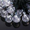 VCT - SIC055 6m 30 LED Solar String Light - Bubble Shape - COLORFUL