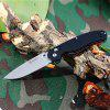Ganzo G727M - BK Foldable Knife with Axis Lock and Clip - BLACK
