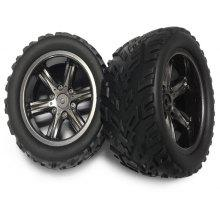 Extra Spare 16 - ZJ01 Tire for 9116 RC Monster Style Truck - 2Pcs