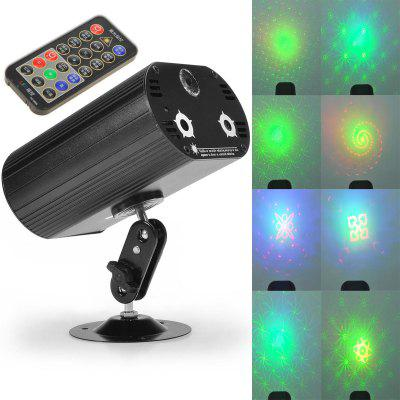 9W RGB Laser Light Stage Decorative Lighting for Disco Party Music Concert