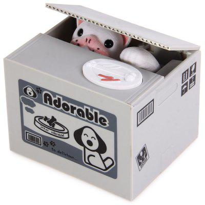 Itazura Piggy Bank Stealing Coin Dog Bank