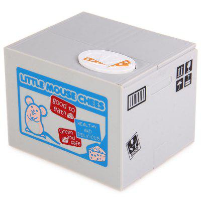 Itazura Piggy Bank Stealing Coin Mouse Bank