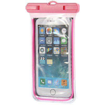 Clear Water Resistant Phone Pouch for iPhone 6 / 6 Plus / 6S Samsung Note 5 S6 Edge Plus etc.
