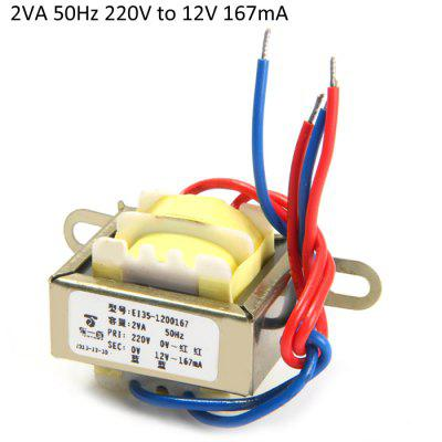 2VA 50Hz 220V to 12V 167mA Transformers